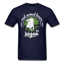 """Real animal lovers are Vegan"" t-shirt"
