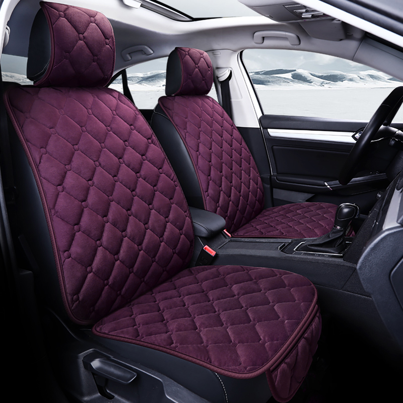 New Plush universal car seat cnaulover for volvo 850 s40 s60 s80 s80l v40 v50 v60 v70 xc60 xc70 xc90 of 2006 2005 2004 2003