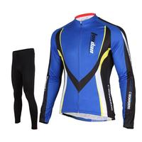 Tasdan Professional Racing Cycling Jersey Suits Road Bike Long Sleeve Jersey And Top Pants Cycling Clothes