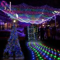 300 LED Net Mesh string Light Decorative Fairy Lights Holiday Christmas Twinkle Lighting Christmas Wedding Party EU