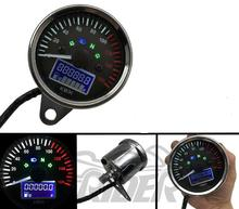 Motorcycle Digital Display Speed Oil Odometer Instrument Speedometer Turn Left and Right Headlamp Light