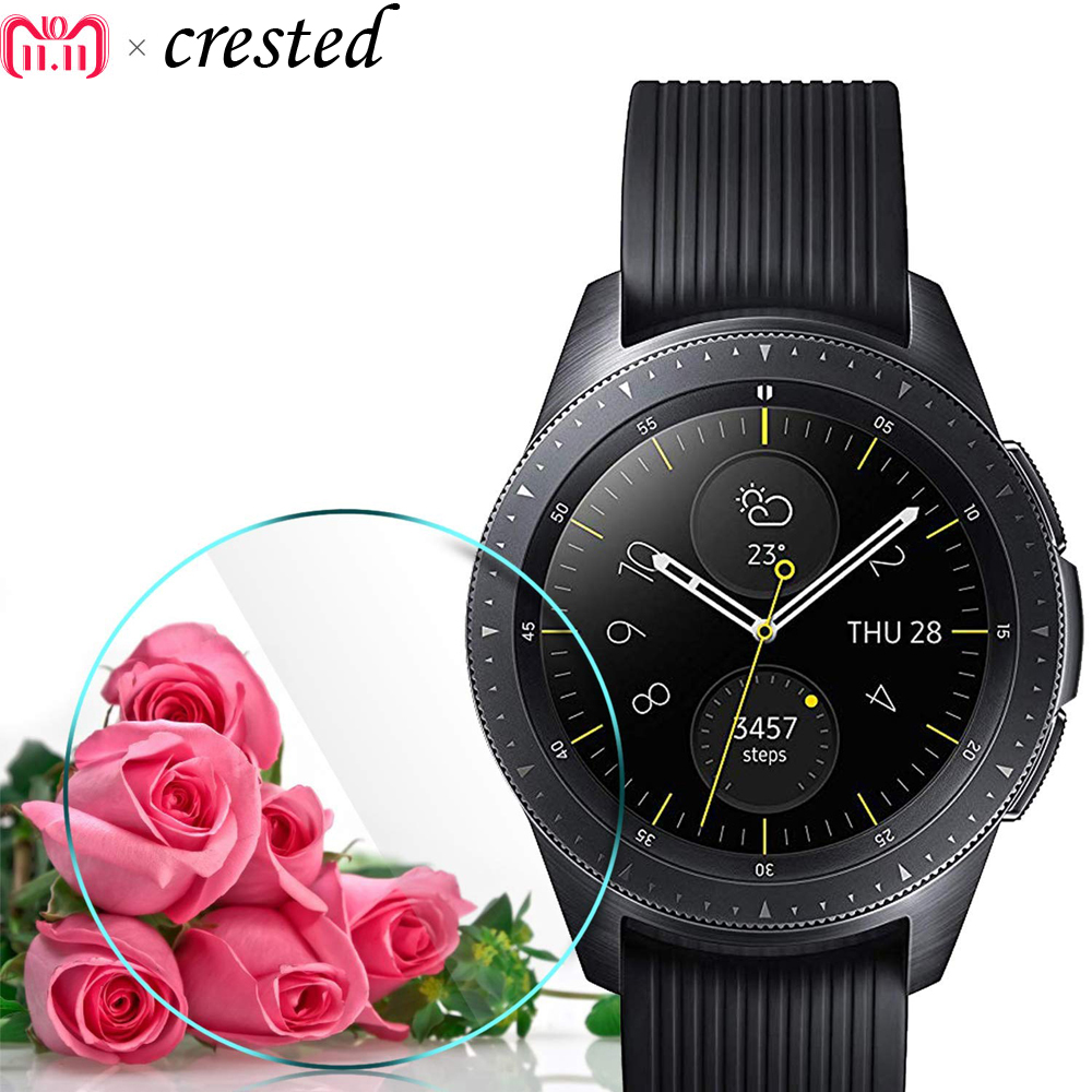 Smartwatch Film For Samsung Gear S3 Frontier/Classic Screen Protector 9H 2.5D Explosion-proof Tempered Glass For Gear Gear S2  explosion proof ultra thin tempered glass screen protector for huawei honor 3c transparent