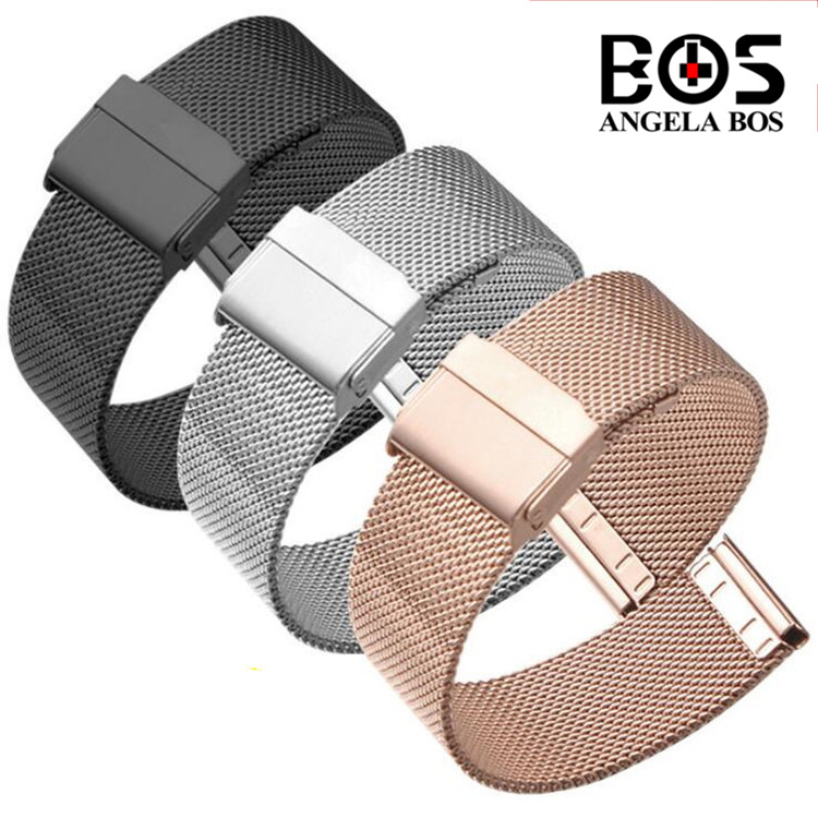 High Quality 316L Stainless Steel Bracelet For daniel wellington Watch Strap Band For DW Women Accessories Watchband 12MM 14MM