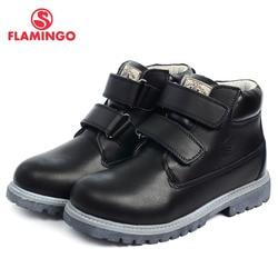 Flamingo 2016 Nueva colección Otoño/Invierno moda niños botas de alta calidad antideslizante zapatos para niños DC3314