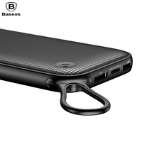 Baseus Portable Quick Charge 3 0 20000mAh Power Bank 3 Outputs External Battery Charger For Mobile