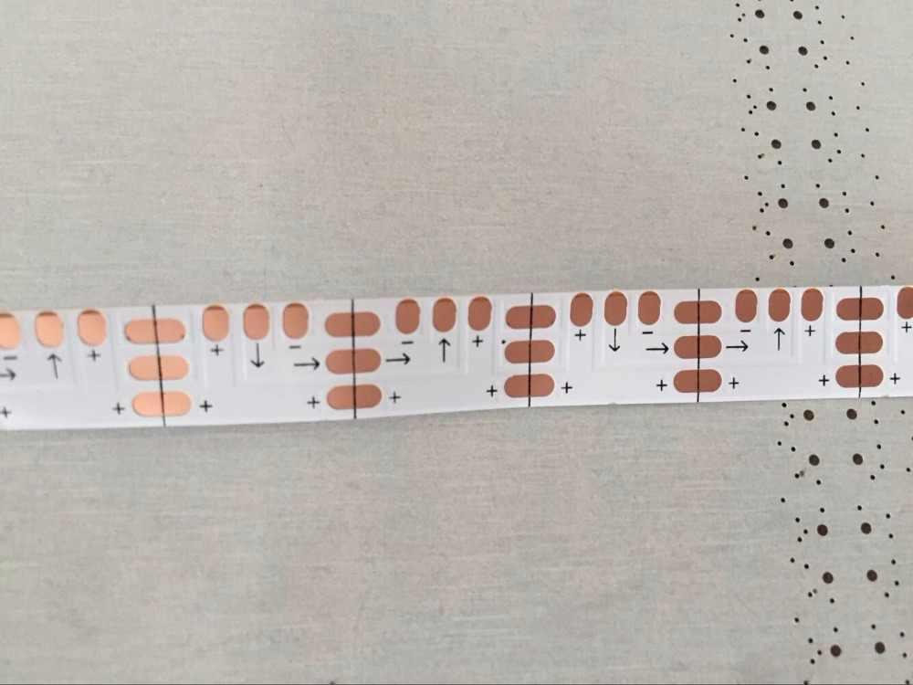 Beyaz esnek PCB (hiçbir led) Piksel PANEL AYDINLATMA kullanımı