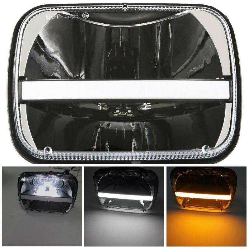 5x7 LED square headlight25800