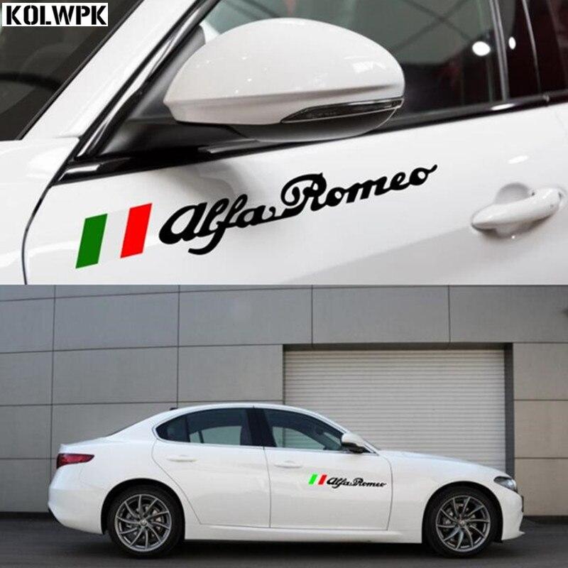 Aliexpress.com : Buy 1set/2pcs NEW Alfa Romeo Flag of