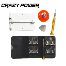 CRAZY POWER 33in1 Precision Screwdriver Repair Hand Tools Set For iPhone 7 7S 6 6S Laptop PC With A Universal PCB Board Holder