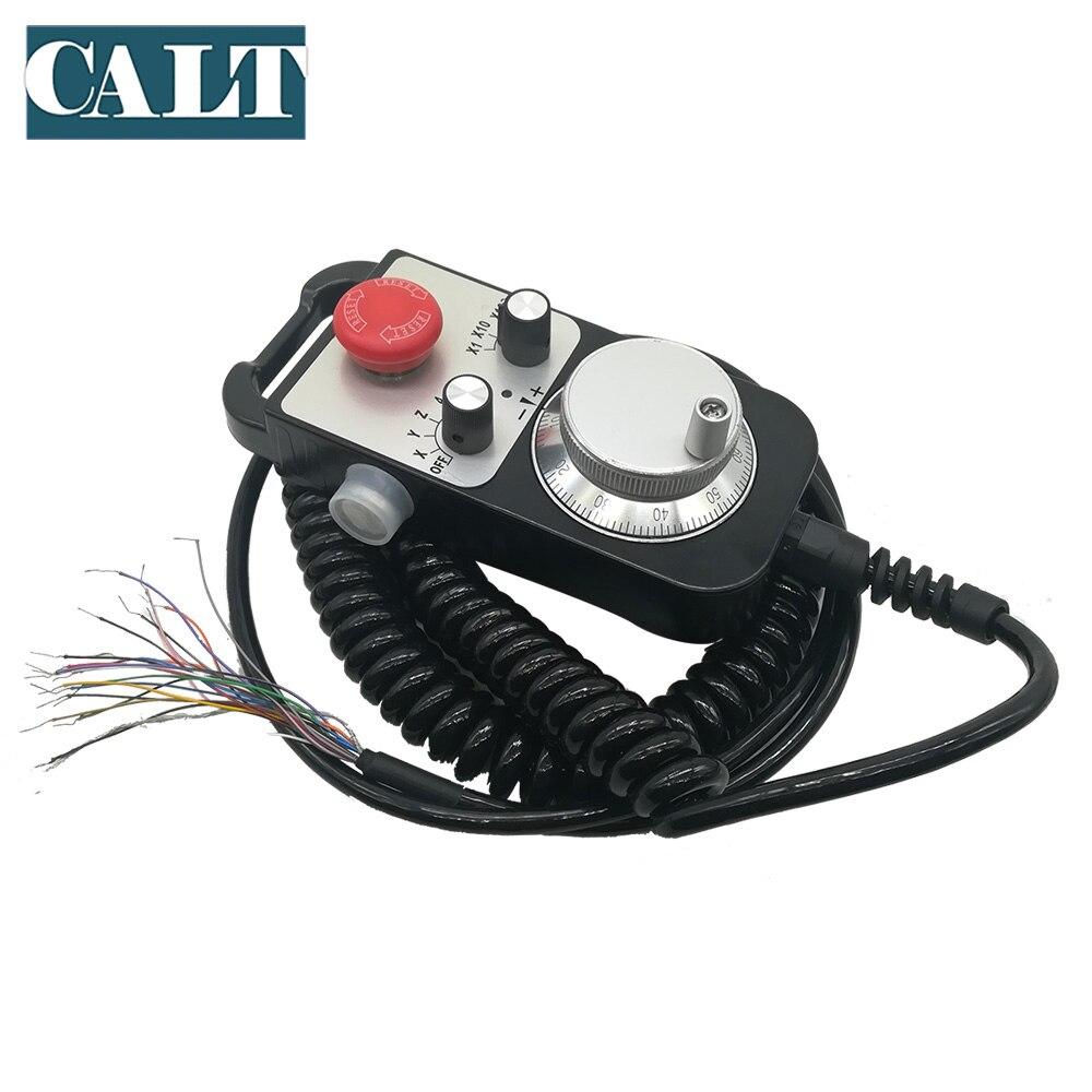 CALT TM1474 100BSL5 станок с ЧПУ ручное колесо MPG 100ppr линейный драйвер напряжение выход 25ppr 142*74 мм ручной импульсный генератор - 5
