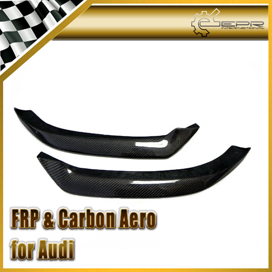 Car Styling For Audi A1 2011 OEM Style Carbon Fiber Front Bumper Lip