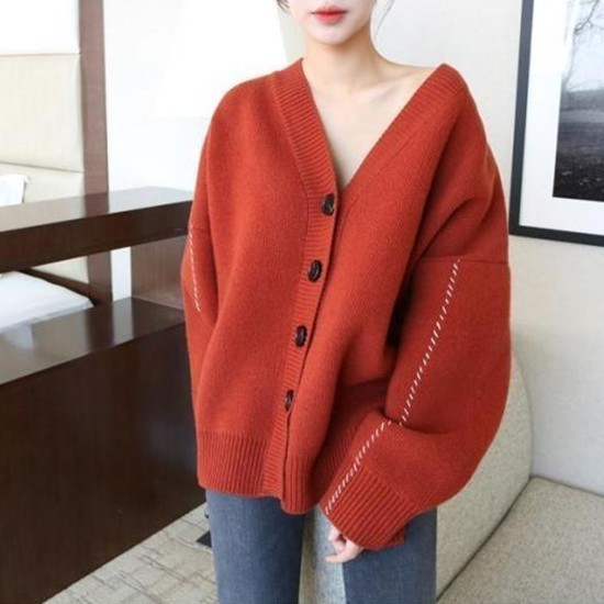[OLOEY] Open Stitch Batwing Sleeve cashmere Sweater Women pullover 2018 Autumn Winter New Korea Loose Plus Size Knitting Z063