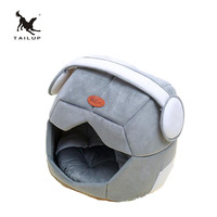 TAILUP Breathable Pet Bed House Space Cap Creative Teddy Kennel Puppy Cat's Nest Sofa For Small Dogs