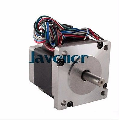 HSTM60 Stepping Motor DC Two-Phase Angle 1.8/2A/2.52-5.04V/8 Wires/Single Shaft