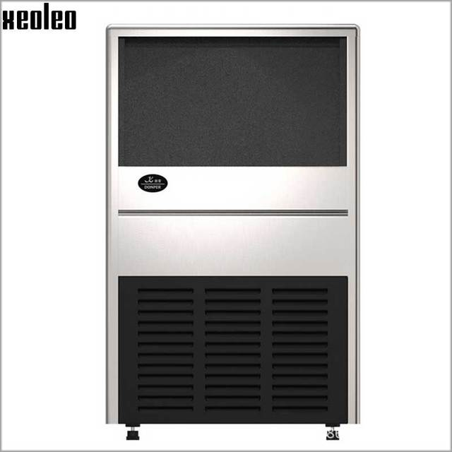 xeoleo commercial ice maker stainless steel ice machine 70kg24h auto clear ice make machine - Commercial Ice Machine