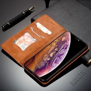 Image 5 - 磁気フリップ革財布ケース Apple の Iphone Xs Max X Xr 8 7 6 6s プラスフォリオカバースタンド機能カードスロットクレジットカード