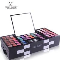 Miss Rose 144 Colors Matte Glitter Eyeshadow Palette Set Powder Cosmetics Maquiagem Eye Shadow Pallet Kit