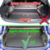 Accessories Boot Liner Cargo Mat Fit For Nissan Dualis Qashqai J10 2007 2008 2009 2010 2011 2012 2013 Rear Trunk Tray Cover promo