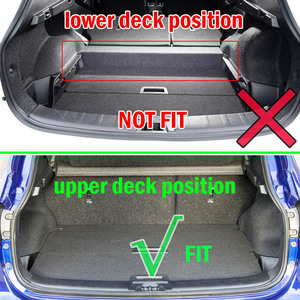 Image 4 - Accessories Boot Liner Cargo Mat Fit For Nissan Dualis Qashqai J10 2007 2008 2009 2010 2011 2012 2013 Rear Trunk Tray Cover