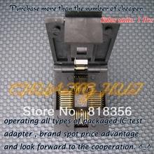 цена на LCC-32 Burn-in Socket PLCC32 LCC32 IC Test Socket/IC Socket(Flip test seat)