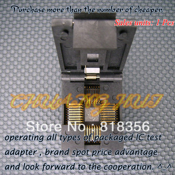 LCC-32 Burn-in Socket PLCC32 LCC32 IC Test Socket/IC Socket(Flip test seat) недорого