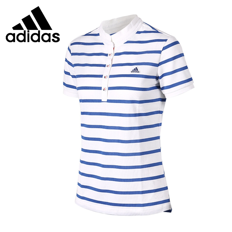 Original New Arrival 2017 Adidas W TC POLO1 Women's  Tennis POLO shirt short sleeve Sportswear adidas original new arrival official neo women s knitted pants breathable elatstic waist sportswear bs4904