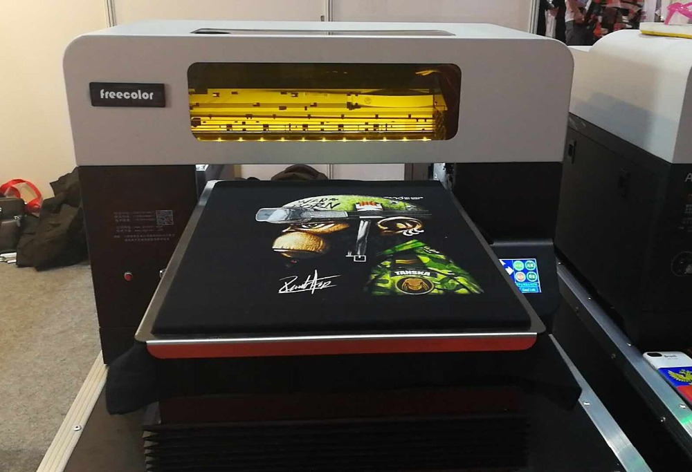 Latest freecolor A3 DTG Printer for t shirt / garment / fabric printing dtg diy t shirt printing machine direct to garment ar t500 with a3 size t shirt printer