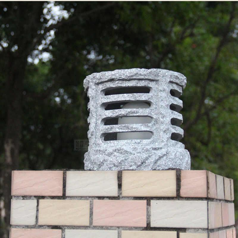 Китайский стиль магазин имитация наружный светильник светильники водонепроницаемый балкон садовые светильники для ворот Столовые Лампы