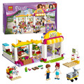 10494 Friends Heartlake Supermarket figureblock Building Blocks Set Bricks Girl Toys Compatible with 41118 Friends