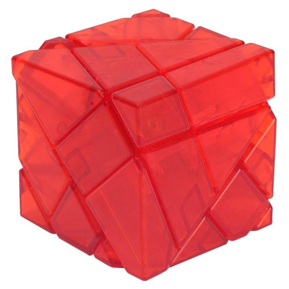Nouveau Cube magique Transparent sans bâton lisse vitesse Puzzle Cube jouets éducatifs enfants cadeau 6 couleurs pour choisir (S5