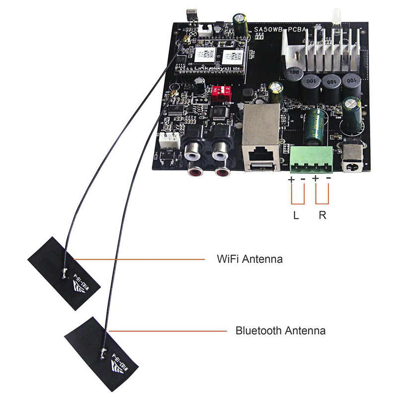 Detail Feedback Questions about Up2stream WiFi and Bluetooth HiFi