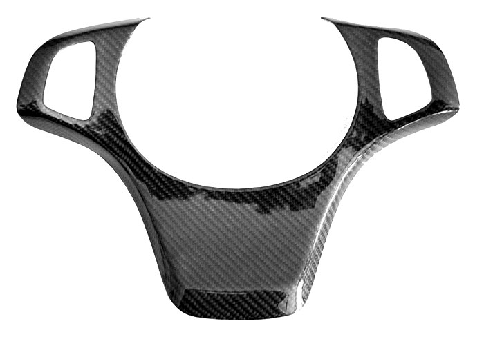 Real Carbon Fiber Steering Wheel Trim Cover Ancient X5 E53 Fit For BMW