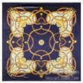 60cm * 60cm H small love home chain belts lady simulation silk satin square