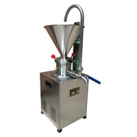 Commercial Industrial Almond Nut Sesame Cocoa Peanut Butter Making Machine Walnut Jelly Colloid Mill