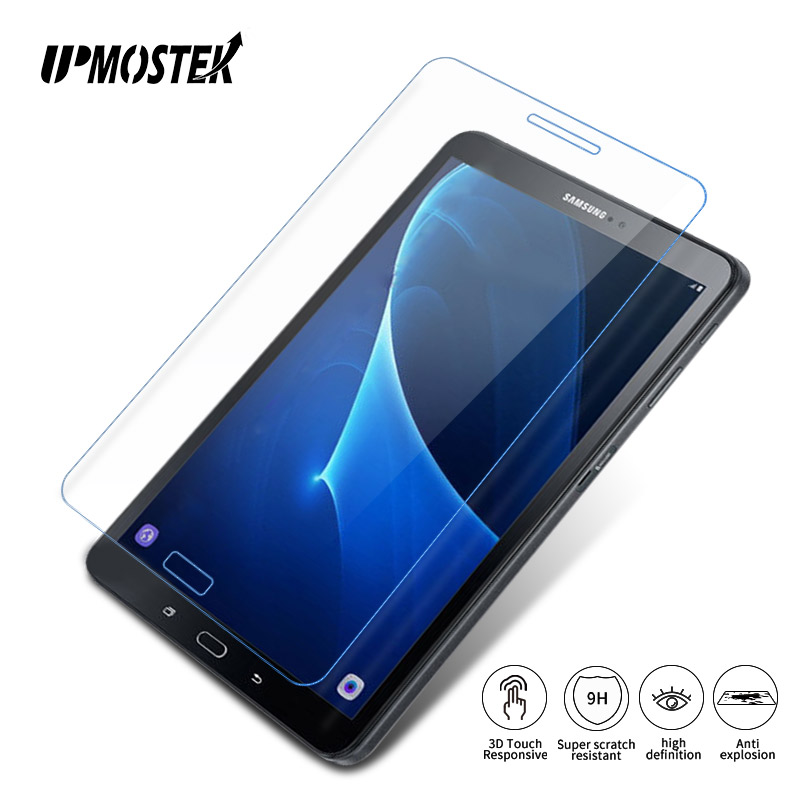 UPMOSTEK Tempered Glass For Samsung Galaxy Tab A 2 3 4 10.1 inch T530 T800 P580 T580 P5100 P5200 10.5 Tablet Screen Protector 10 1 for samsung galaxy tab 4 10 1 sm t530 t530 sm t531 t531 t535 touch screen digitizer sensor front outer glass lens panel