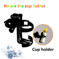 2016 1pcs Hot Sale Plastic Baby Stroller Accessories Universal Cup Holder Stroller Cup Holder For Wheelchairs Prams Accessories