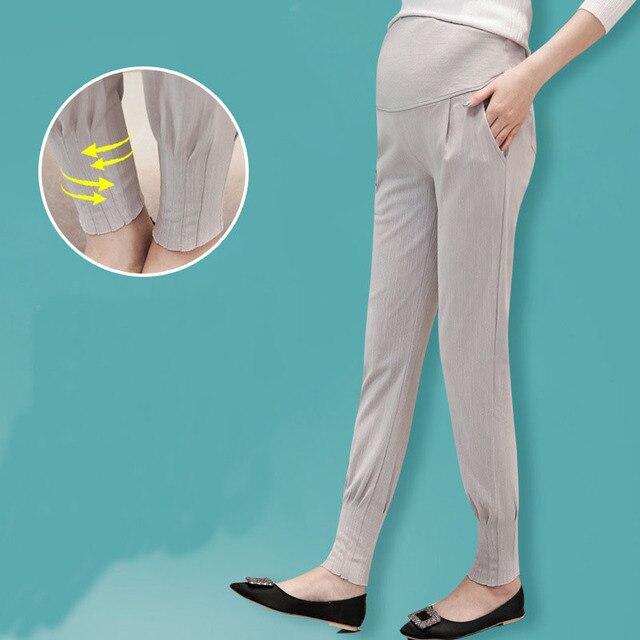 2016 корейский осень свободные мода досуга беременность брюшной haroun брюки брюки для беременных высокого качества женские брюки