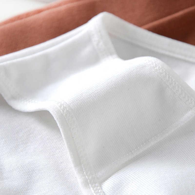 Wriufred de hilo de algodón sin costura mujeres sujetador de ocio conjunto de talla grande chaleco ropa interior del sueño camisetas Sexy con cuello en V ropa interior sin Alambre de Fitness