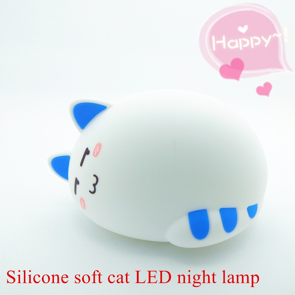 LED Night Lamp with Multiple Light Colors