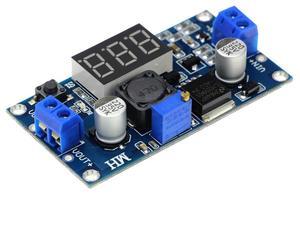 Image 2 - 30PCS LM2596S DC DC Adjustable regulated power supply module LM2596 Voltage regulator with digital display voltmeter