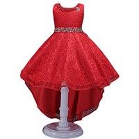 Baby Girl Princess Dress Kids Christmas Sleeveless Dresses For Girls 3 14Y Toddler Crystal Birthday Wedding