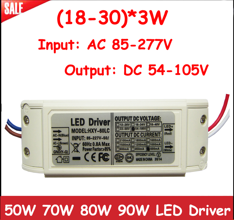 Lights & Lighting Constant Current Driver For 14-18pcs 3w High Power Led Ac85-265v Ip66 Waterproof