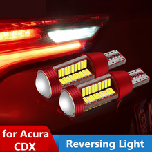 For Acura CDX Reversing Light LED Refit Auxiliary White Waterproof Highlight Lamp Bead