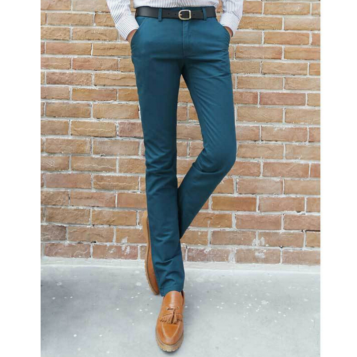 Aliexpress.com : Buy 2016 Fitted Smart Cropped Men's Pants New ...