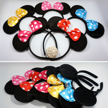 Minnie Mouse Ears Party Headbands