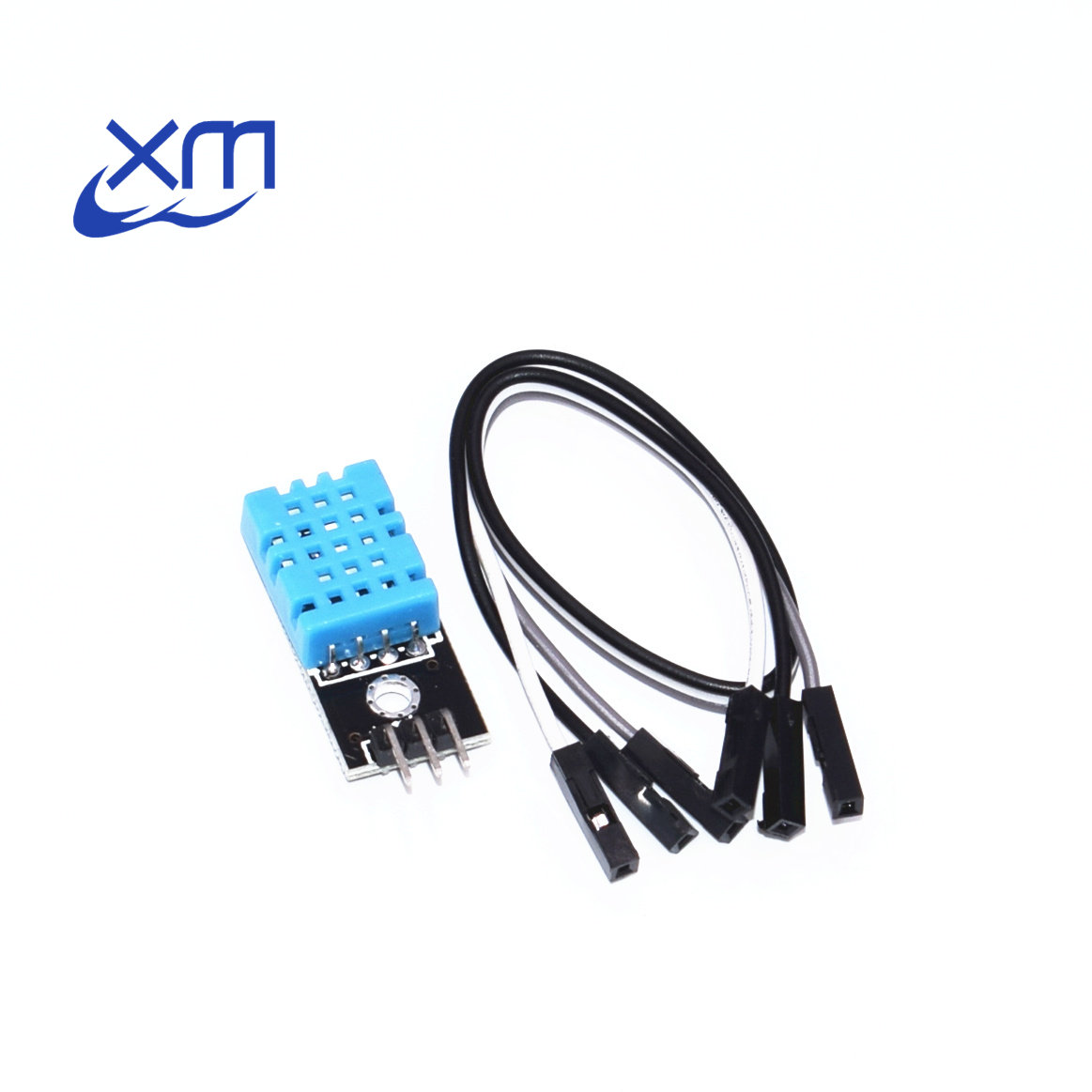 Free Shipping DHT11 Temperature and Relative Humidity Sensor Module With Cable 50PCS H22-in Integrated Circuits from Electronic Components & Supplies