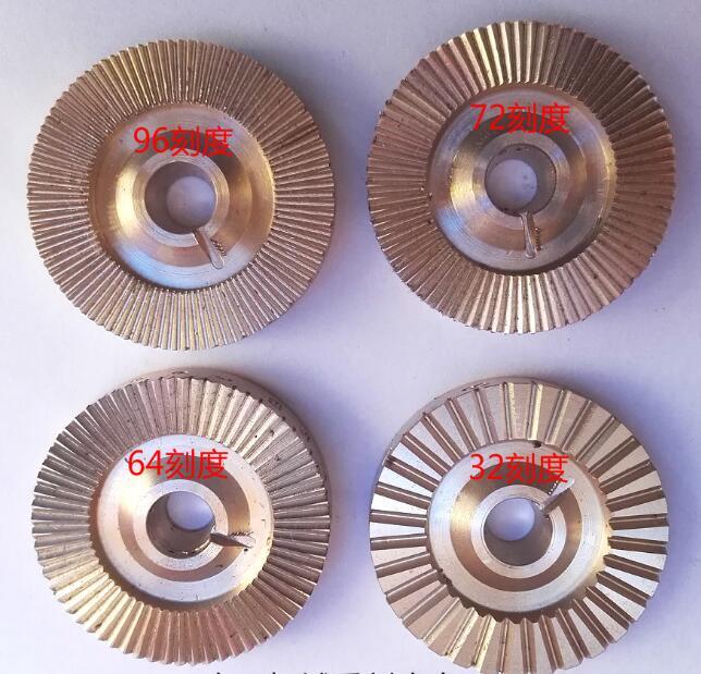 Gem Stone Faceting Machine Gear 96 72  64 32 Index Wheel Sticking Bar And Glue