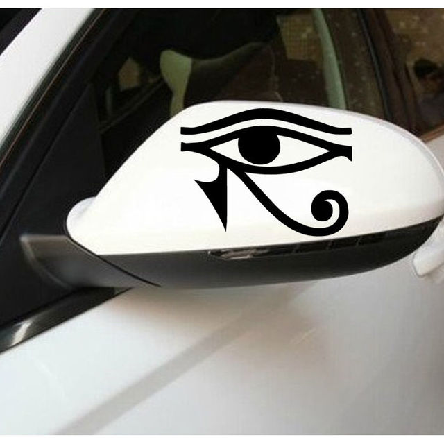 Hot wall sticker car styling waterproof decal car sticker eye of ra horus egyptian god vinyl