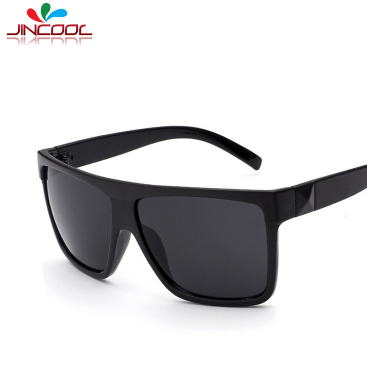 jincool 2016 big square frame glasses men retro women sunglasses brand designer eyewear fashion sun glasses oculos de sol s293