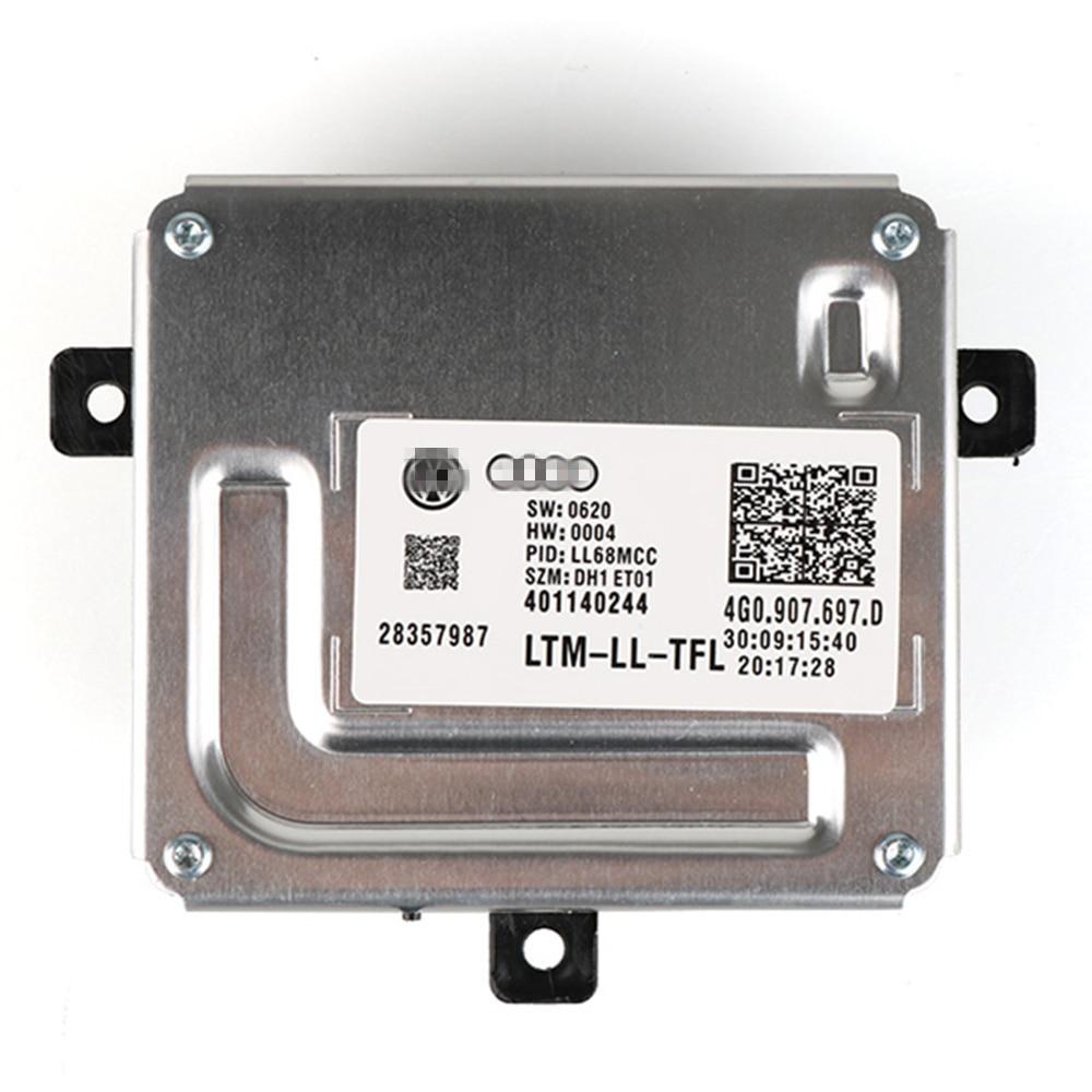 New Driving Module Xenon Headlights Follower Controller LED Driver 4G0.907.697.D For Audi Q5 A4 A5 A6